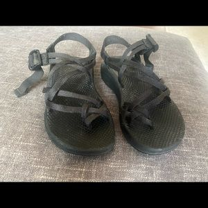 Chaco sandals women size 7 black zx2